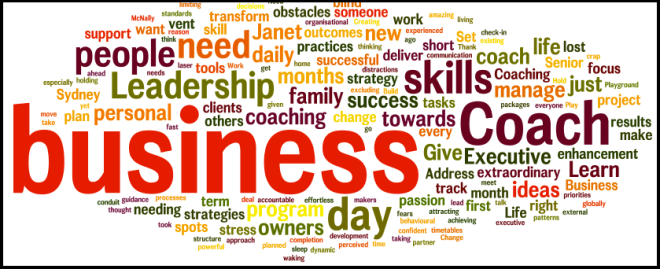 business coaching